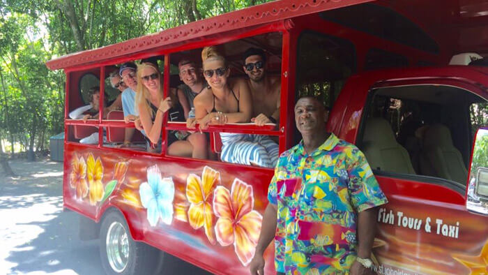 St John Group Taxi Tour
